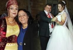 Faslı gelin Balıkesirde evlendi