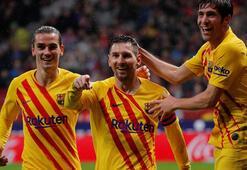 Barcelona Atletico Madridi Messi ile devirdi
