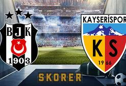 Beşiktaş Kayserispor maçı ne zaman Saat kaçta, hangi kanalda Muhtemel 11ler...