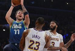 Lakersa Dallas dur dedi 14 sayı fark...