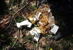 1,2 milyon liralık soygun Altınları ormana gömmüşler