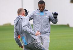Trabzonsporda Sturridge takımla birlikte çalıştı
