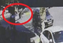 Markete giden dede ile toruna otomobil çarptı