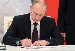 Son dakika | Putin imzayı attı Zorunlu hale geldi