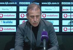 Abdullah Avcı: Oyuncularıma, yönetime, camianın içindeki enerjiye teşekkür ediyorum.