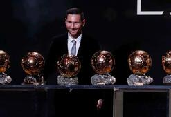 2019 Ballon Dorun sahibi 6. kez Lionel Messi