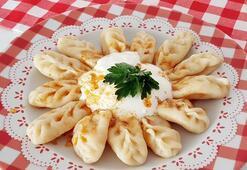 Karsın meşhur yemeği: Hıngel mantı