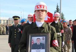 Şehit uzman onbaşı Harun Çınarın cenazesi memleketi Hataya uğurlandı