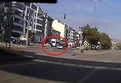 Ankarada otomobilin çarptığı kadın yaralandı