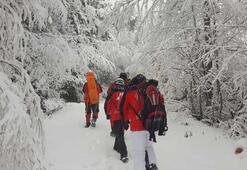 Uludağda kayıp dağcılar İrtibatı kesilen AKUT ekibine ulaşıldı