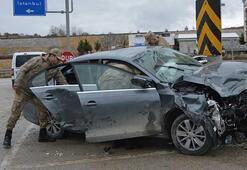 Samsunda feci kaza Ölü ve çok sayıda yaralı var