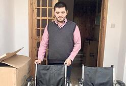 14 tekerlikli sandalye hediye ettiler
