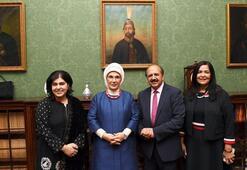 Emine Erdoğan İngiliz milletvekilleriyle bir araya geldi