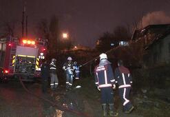 Ankarada 3 gecekondu kundaklandı
