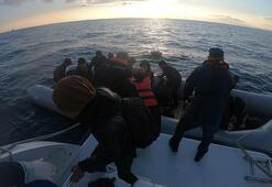 Çanakkalede 51i çocuk, 111 kaçak göçmen yakalandı