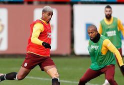 Galatasarayda Şener, Emre ve Lemina takımla çalıştı