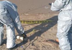 Sahile vuran cisim işaret fişeği çıktı