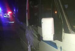 Minibüste 54 kaçak göçmen yakalandı