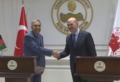 Afgan bakandan Süleyman Soyluya ziyaret