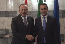 Dışişleri Bakanı Çavuşoğlu, İtalyan mevkidaşıyla görüştü