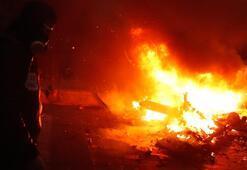 Son dakika | Fransada hayat durdu Her yer yangın yerine döndü...