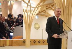 Cumhurbaşkanı Erdoğan tarihi açılışta Kuran-ı Kerim okudu