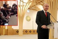 Cumhurbaşkanı Erdoğan Cambridge Camisinde Kuran-ı Kerim okudu