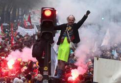 Fransada son yılların en büyük grevi ikinci gününde