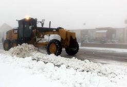 Elazığda 81 köy yolu ulaşıma kapandı