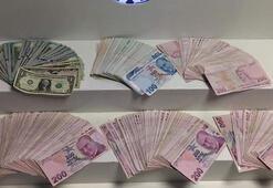 Kasadan çaldığı paraları samanlığa sakladı