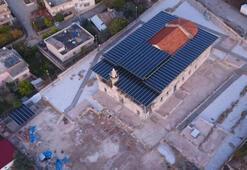 Tarihi camiye metal çatı Açıklama geldi