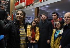 Hazine ve Maliye Bakanı Albayrak Erzurumda