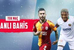 Galatasaray – Alanya maçı canlı bahisle Misli.comda