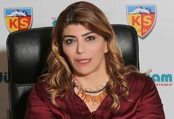 Kayserisporda Berna Gözbaşı başkan seçildi