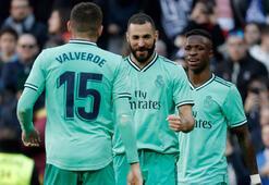 Real Madrid ligde galibiyet serisini 4e çıkardı