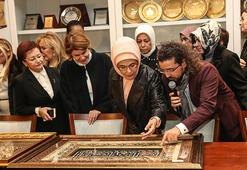 Emine Erdoğan, Artsın Eksilmesin Dönüşüm Pazarını ziyaret etti