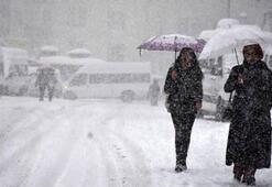 Pazar günü hava durumu nasıl olacak Kar yağacak mı