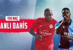 Antalyaspor – Trabzonspor maçı canlı bahisle Misli.comda