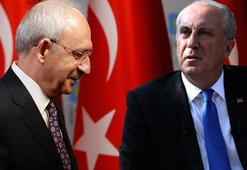 Muharrem İnceyi çileden çıkaran sözler Kılıçdaroğlu haber gönderdi