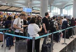 İstanbuldaki havalimanlarından 11 ayda 96 milyon yolcu seyahat etti