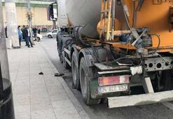 Şişli'de beton mikseri dehşeti: 1 ölü, 1 ağır yaralı
