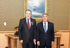 Tataristan'dan Kırman'a madalya geldi