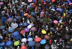 Şemsiye devrimi yayılıyor Bu kez orada ortaya çıktı