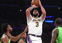 Davis yıldızlaştı, Lakers rahat kazandı: 142-125