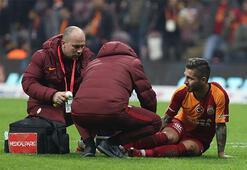 Galatasaraydan Adem Büyük açıklaması Zorlanma tespit edildi...
