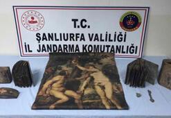 Şanlıurfa'da tarihi eser ve silah kaçakçılığı operasyonu: 7 gözaltı