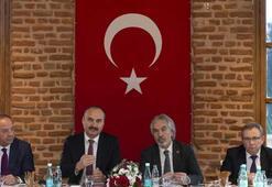 Cumhurbaşkanlığı Kültür ve Sanat Politikaları Kurulu üyeleri Edirnede toplandı