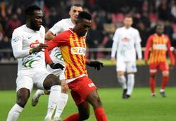 Kayserispor - Çaykur Rizespor: 1-0