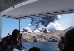 Son dakika: Whakaari Yanardağı patlaması sonrası kötü haber geldi Hayat belirtisi yok