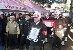 Kalp krizinden ölen Kıbrıs gazisi, Aydında toprağa verildi
